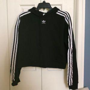 Adidas Crop Top Sweatshirt!